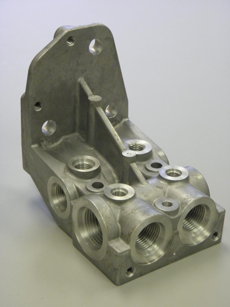 Aluminum Fuel Manifold