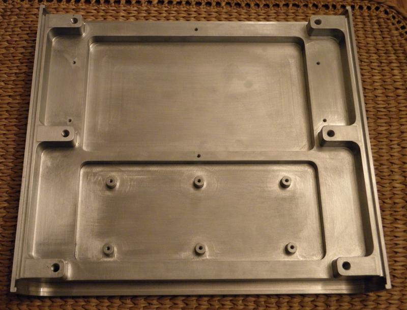 Fabricated Housing from Aluminum Billet